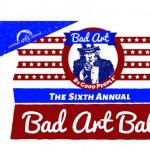 Bad Art Ball Invite Front 2016