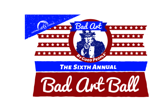 Bad Art Ball Invite Front 2016